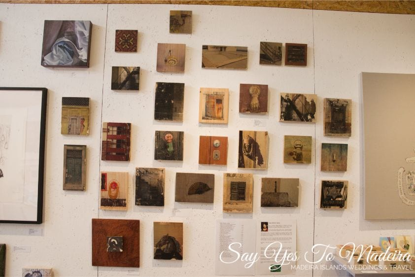 Restock Art Gallery in Madeira: Used books in English and other languages, handmade souvenirs, gifts, art and temporary art exhibitions. Art Galleries Funchal. Funchal attractions. Best of Funchal.