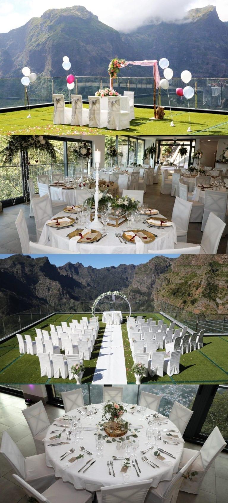 Piękne miejsce na ślub w górach - ślub w górach za granicą - Madera ślub - miejsca na ślub w górach
