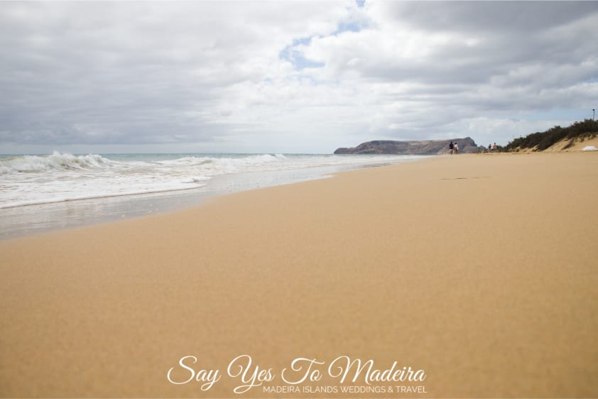 Beautiful beaches - Stunning Porto Santo Island beach, Madeira Archipelago