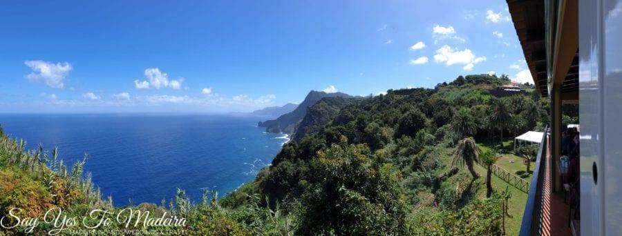 Best Madeira Island restaurants with a view - Quinta de Furao Restaurant review - Najlepsze restauracje z widokiem na Maderze - Restauracja Quinta do Furao Santana recenzje, opinie, zdjęcia