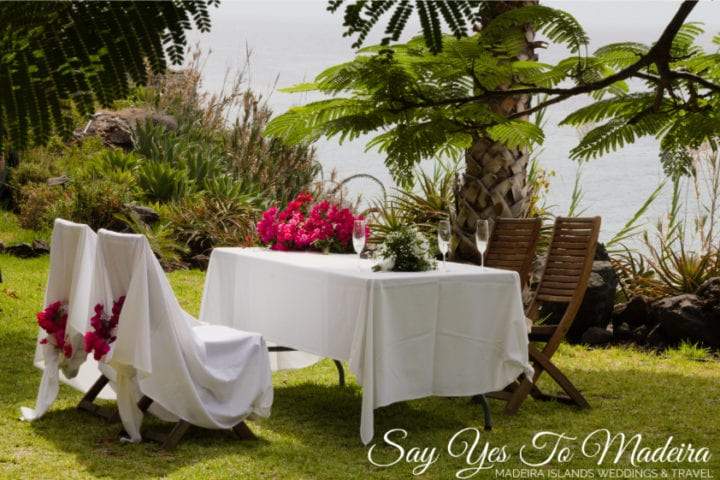 Off the beaten path wedding venues in Madeira: Unique Fajã dos Padres