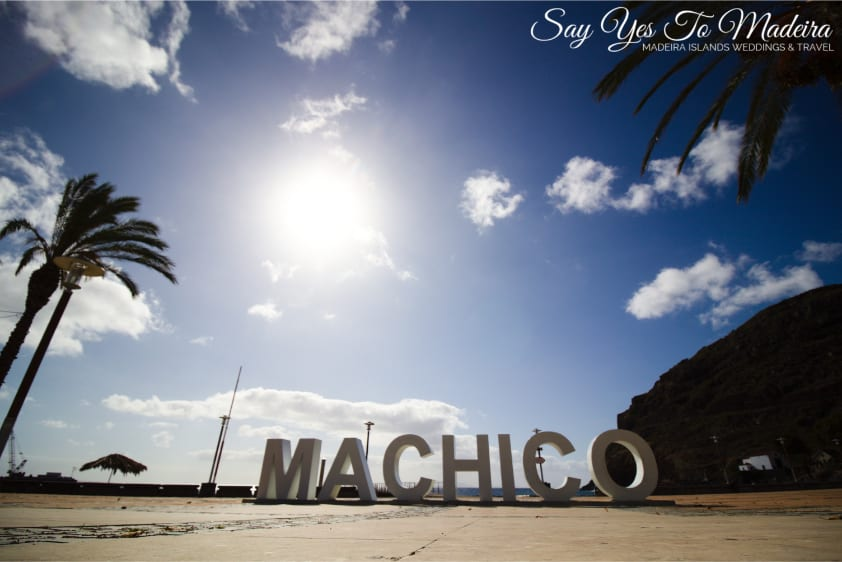 Madeira Island beaches - Machico beach