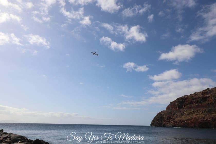 Miejsca do obserwacji samolotów na Maderze - Plaża w Machico