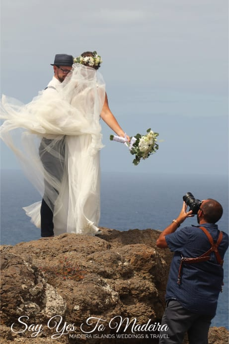 Weddings in Madeira. Destination wedding planner Madeira Island & Porto Santo, Portugal. Destination wedding photographer Madeira Islands.