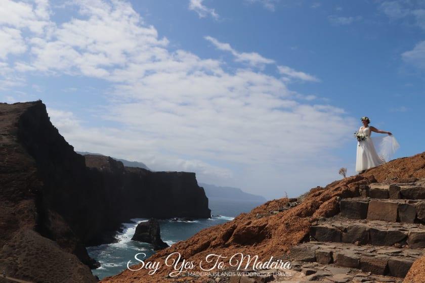 Ślub za granicą. Ślub w Portugalii. Niesamowite miejsca na ślub za granicą. Fotograf ślubny Madera.