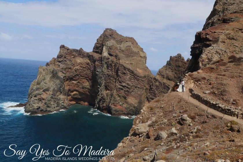 Ponta de São Lourenço - destination wedding photographers in Madeira