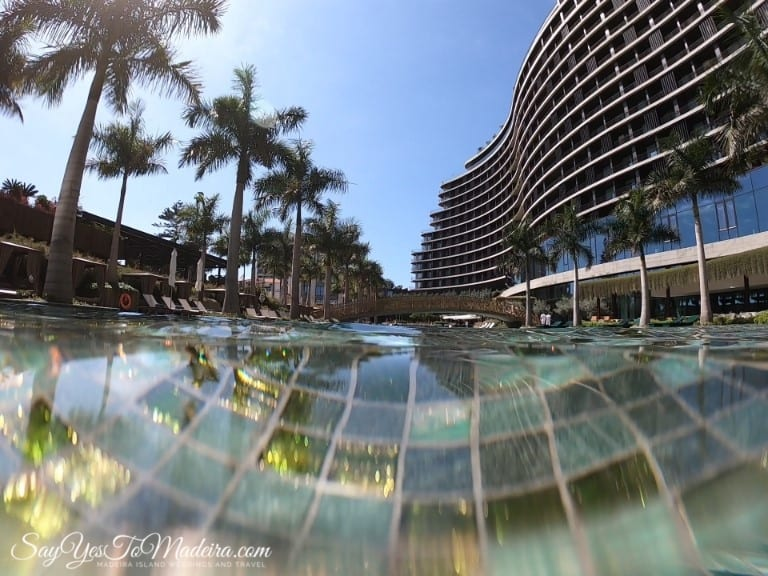 Best hotel pool of Madeira Island - Savoy Palace Resort Madeira Island. Best hotels Madeira.