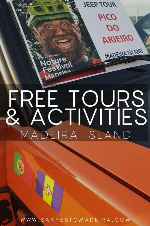 Darmowe wycieczki i atrakcje na Maderze - Festiwal Przyrody 2020 na Maderze.