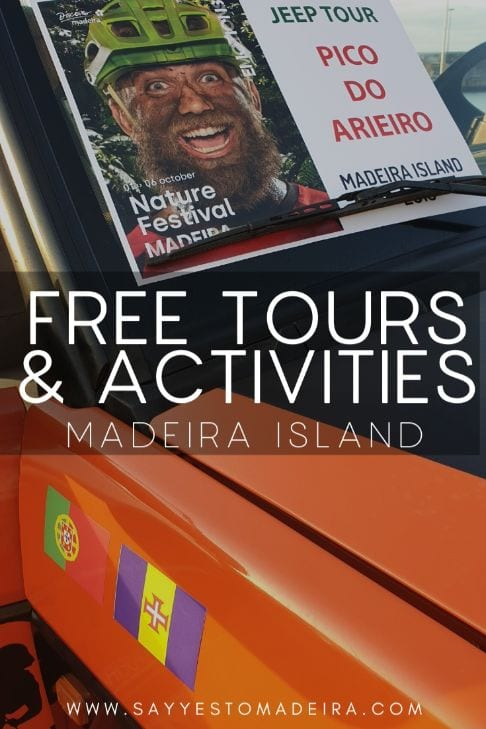 Festival agenda Madeira Island: Madeira Nature Festival Free Tours and Activities