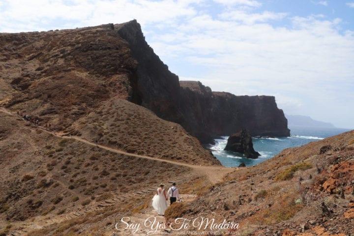 Fotograf na Maderze. Plener ślubny na Półwyspie Świętego Wawrzyńca na Maderze.