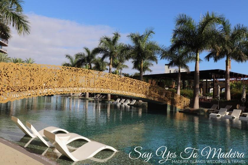 Savoy Palace Funchal - best hotel pool Madeira Island - najlepszy hotelowy basen na Maderze
