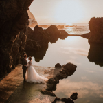 Madeira Island wedding photographer and photo shoot locations: Lava Pools Seixal and Porto Moniz