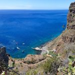Best non-touristic and beautiful places on Madeira Island - Calhau da Lapa. Staying in Campanario, Madeira