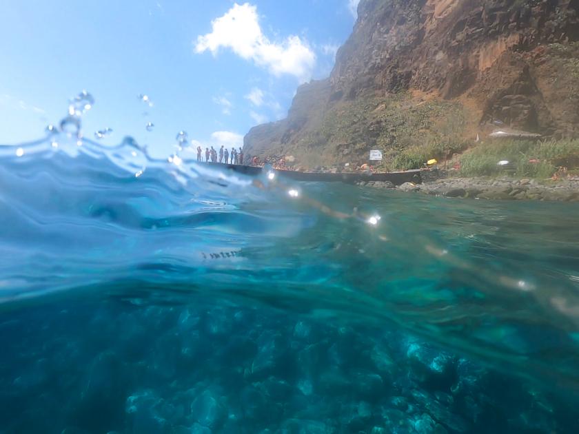 Madeira Island hidden gems - Calhau da Lapa beach Campanario. Attractions in Campanario, Madeira