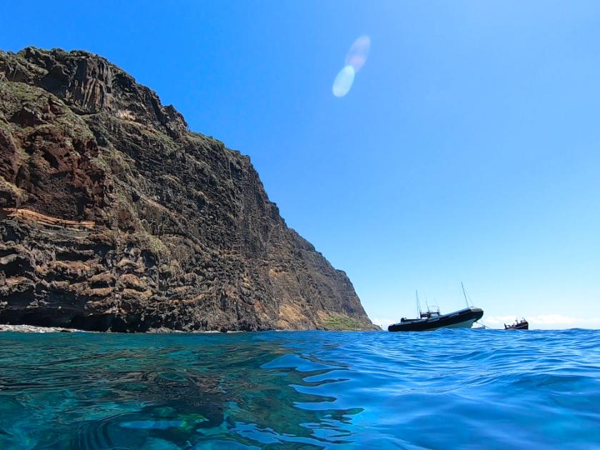 Madeira Island hidden gems - Calhau da Lapa & Faja dos Padres by boat