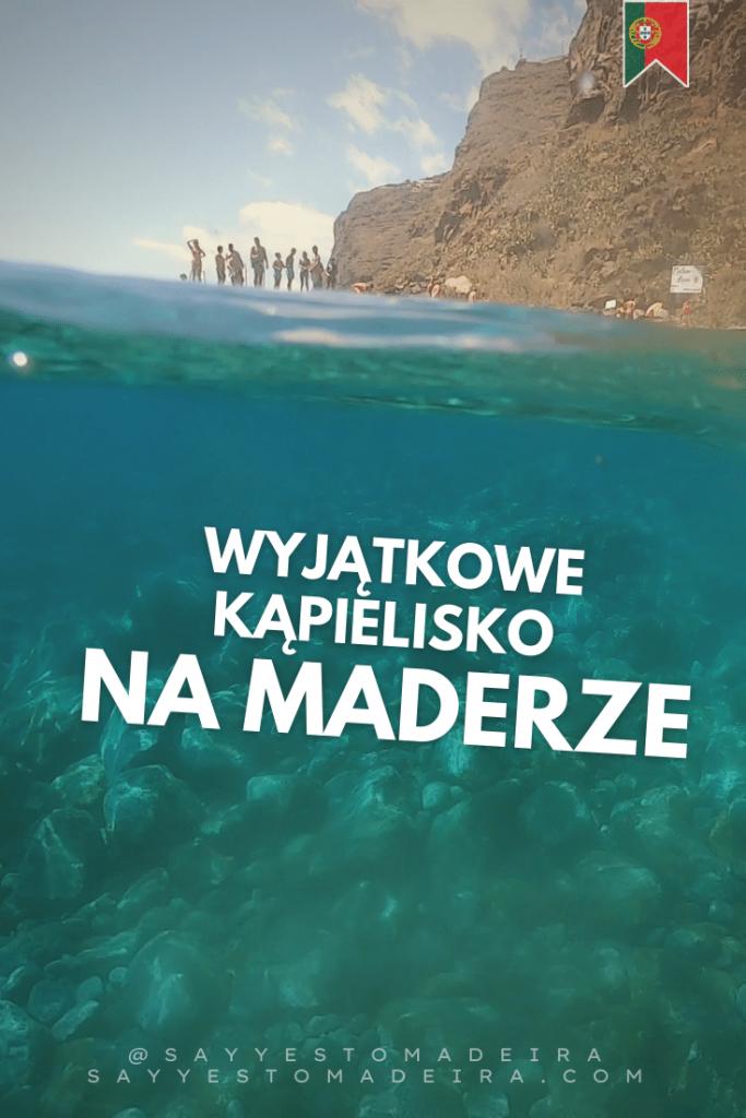 Najlepsze kąpieliska na Maderze w Portugalii - plaża Calhau da Lapa