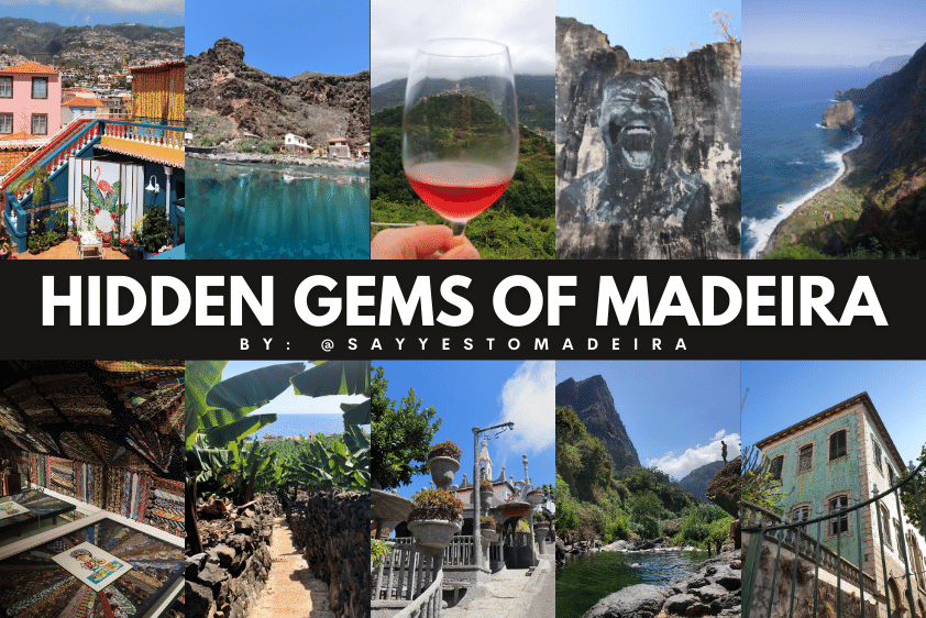 Madeira (Portugal) hidden gems, unique places, less popular spots of the beaten path