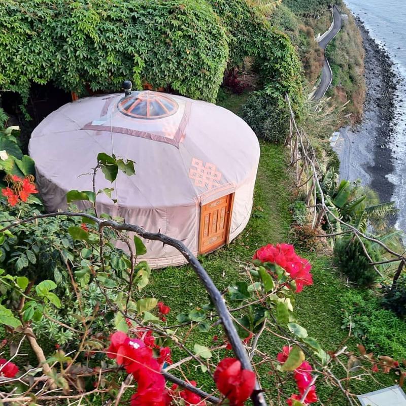 Nocleg w namiocie na Maderze Portugalia - najlepsze Airbnb na Maderze