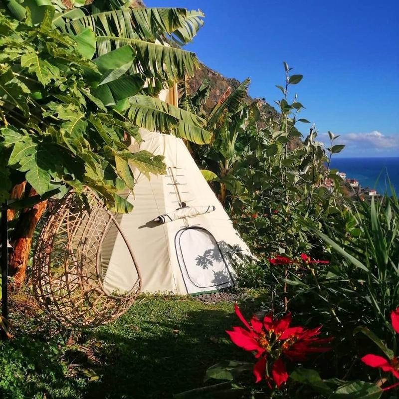 Nocleg w tipi na Maderze Portugalia - najlepsze Airbnb na Maderze